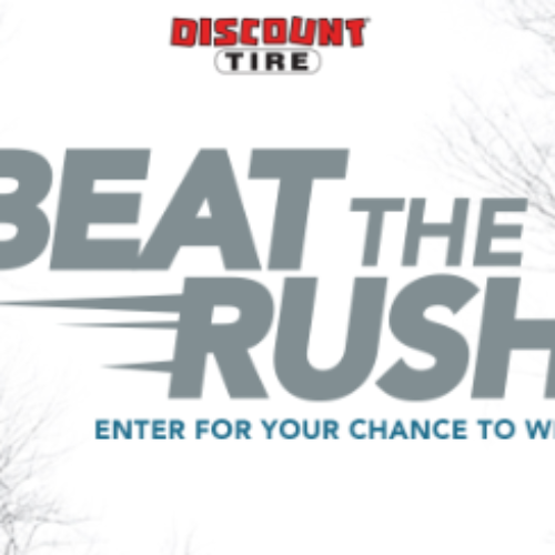 Win a Set of Winter Tires & Wheels