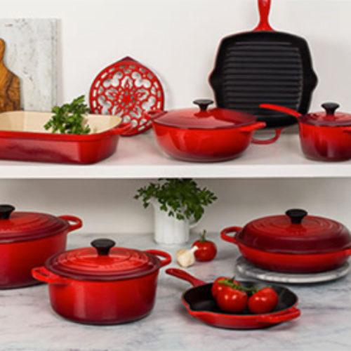 Win a Le Creuset Ultimate Cookware Set