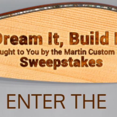 Win a $10K Martin Guitar