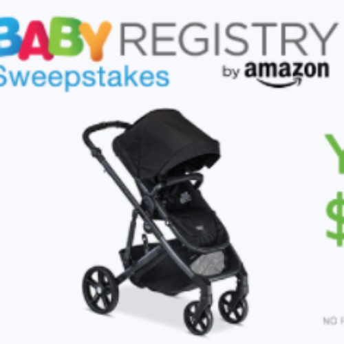 Amazon Baby Registry: Win $2,500