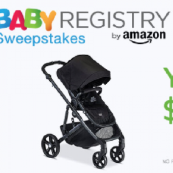 Amazon Baby Registry: Win $2,500
