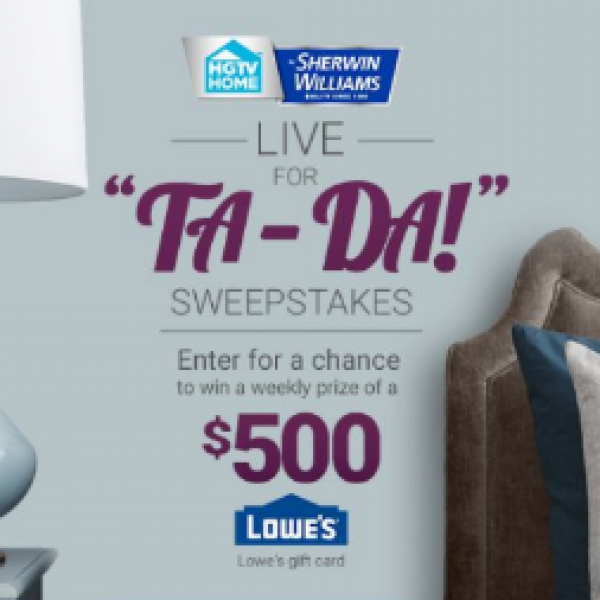 Win 1 0f 7 $500 Lowe's Gift Cards