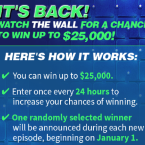 NBC's The Wall: Win $25,000