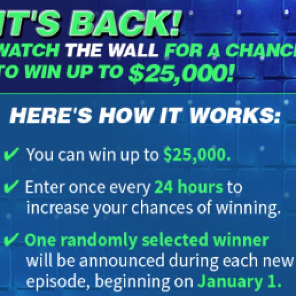 NBC's The Wall: Win $25,000