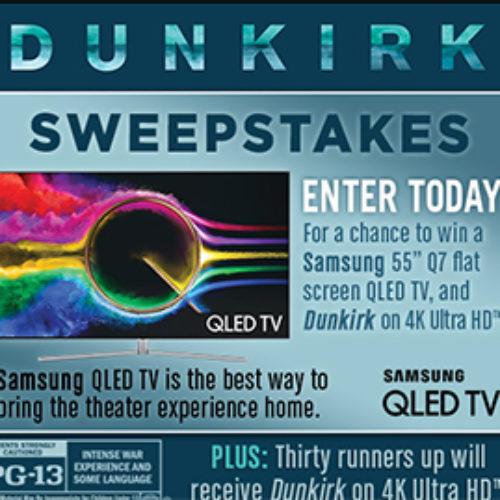 Warner Bros: Win a Samsung QLED TV