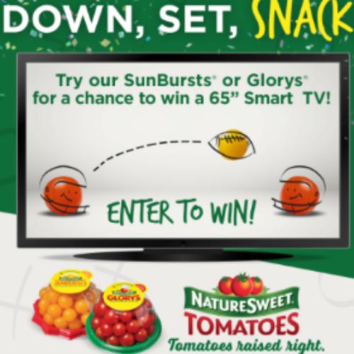 """NatureSweet: Win a 65"""" Smart HDTV"""