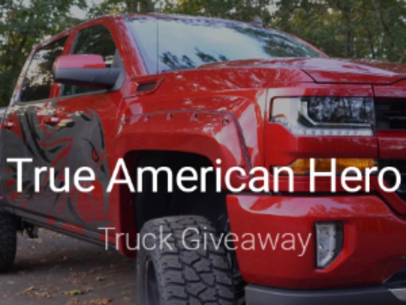 Win a Custom Chevy Silverado