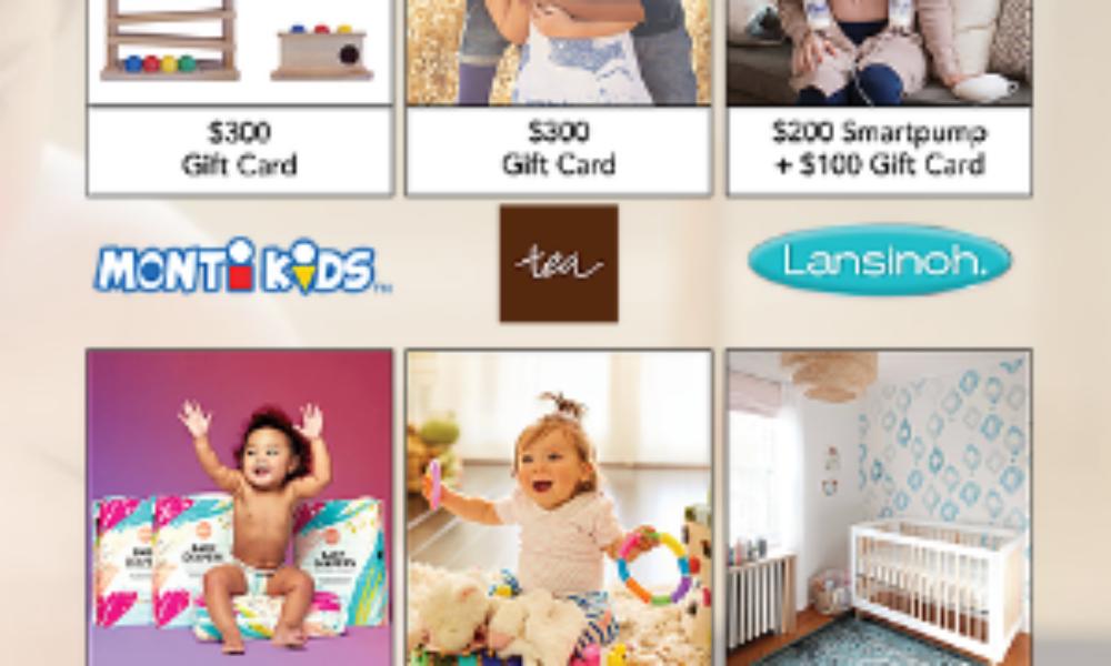 Win $1,800 in Baby Gear