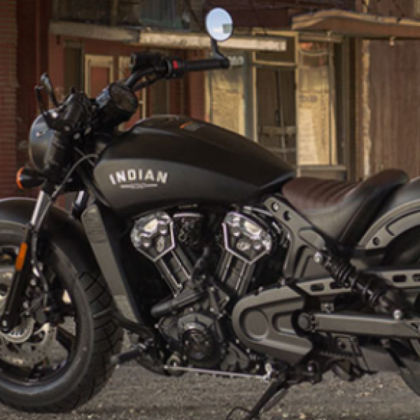 Win an Indian Scout Motorcycle