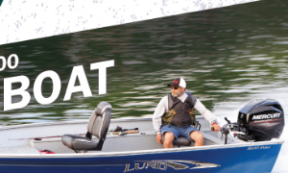 Win a Lund 1600 Bass Boat