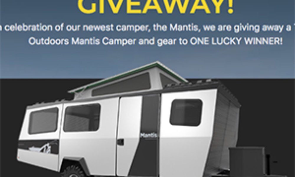 Win a $60K Mantis Camper