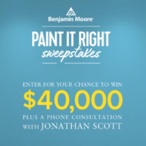HGTV: Win $40,000