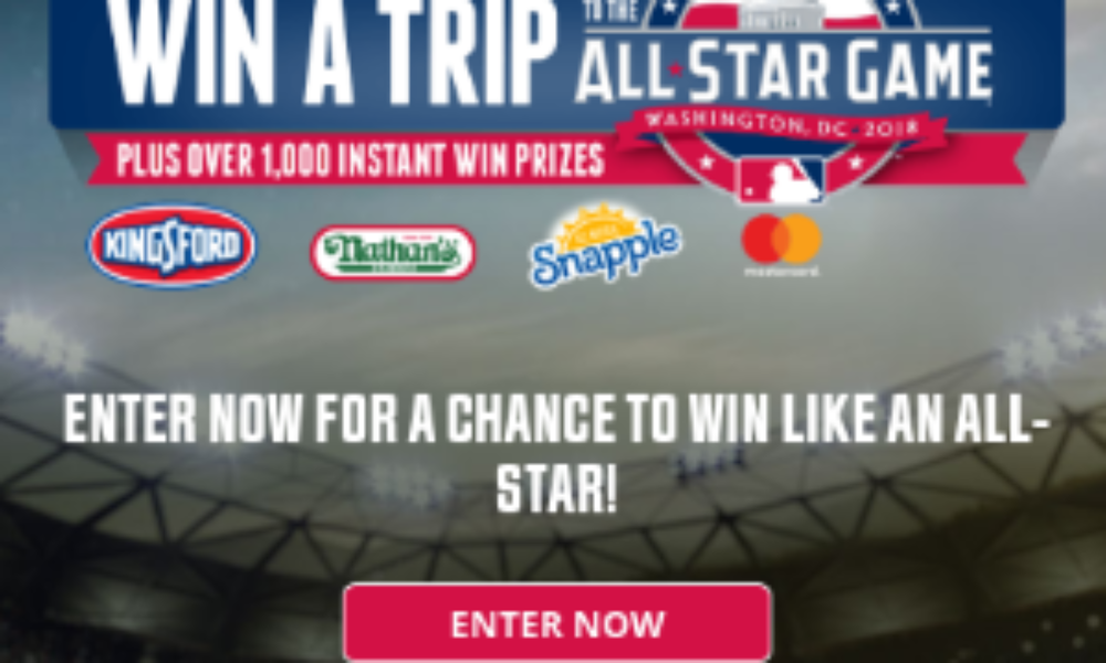 Win a Trip to the 2018 MLB All-Star Game