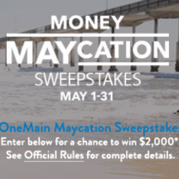OneMain: Win Up To $2,000