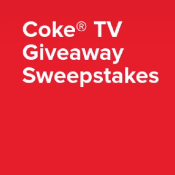 """Coca-Cola: Win a 65"""" TV + $250 Gift Card"""