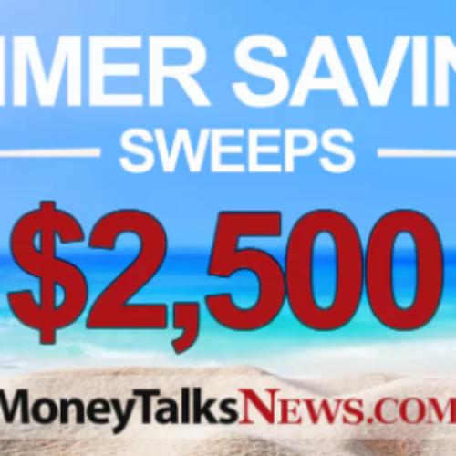 MoneyTalksNews: Win $2,500