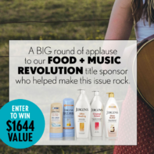 Win a $1,500 Visa Gift Card + Jergens Pack
