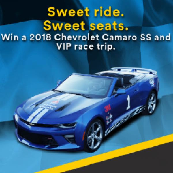 Win a 2018 Chevrolet Camaro SS