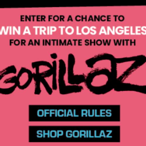 Win a Trip to see Gorillaz in LA