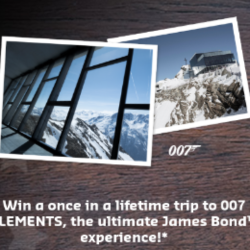 Win a Trip to 007 ELEMENTS
