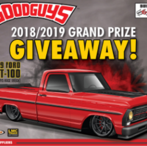 Win a 1969 Ford GRT-100 Truck