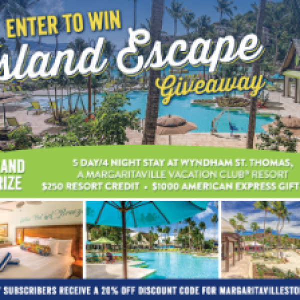 Win a Trip to St. Thomas Virgin Islands