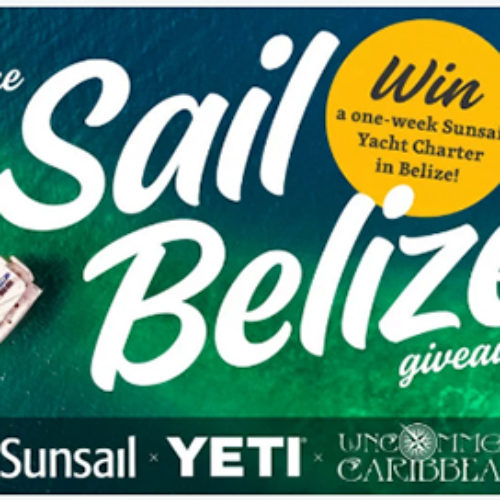 Win a Yacht Charter in Belize