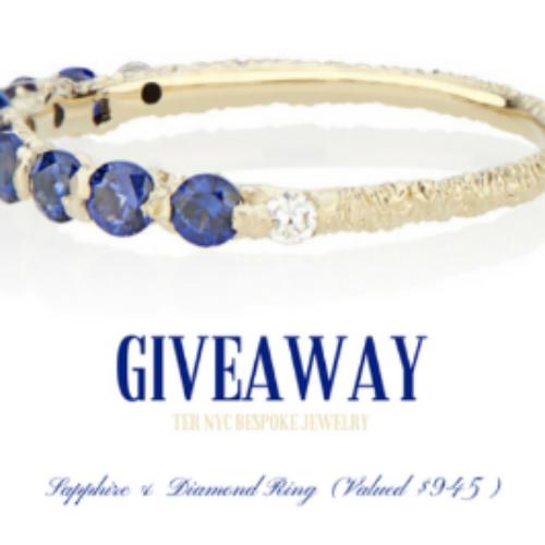 Win a Sapphire & Diamond Ring