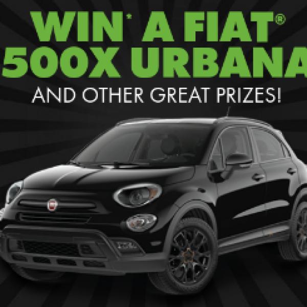 Win a Fiat 500x Urbana