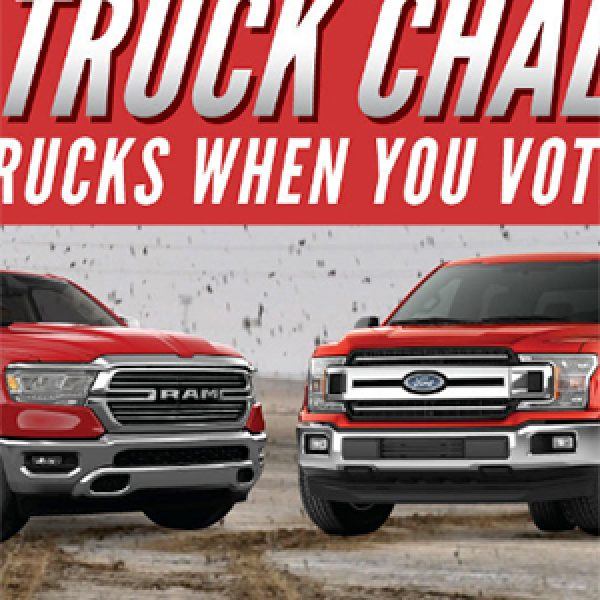 Win a New 4WD Truck