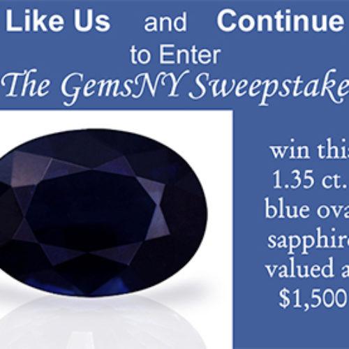 Win a Blue Oval Sapphire
