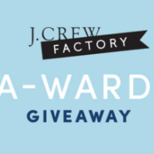 J. Crew Factory: Win $2,500