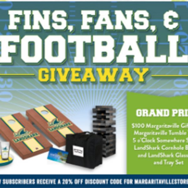 Margaritaville: Win a Tailgate Prize Pack