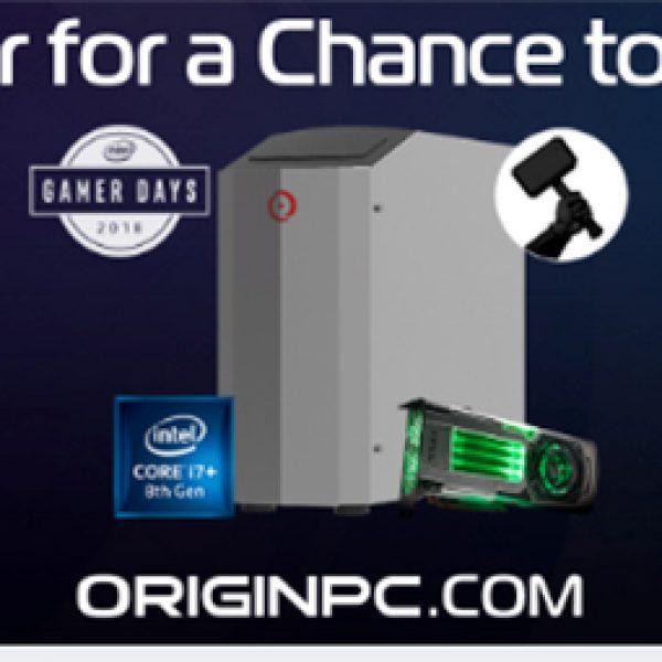 Win an ORIGIN Millennium Gaming Desktop