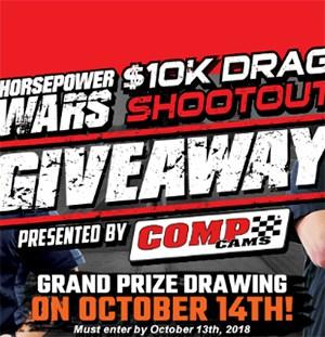 Win a $10K Drag Race Car