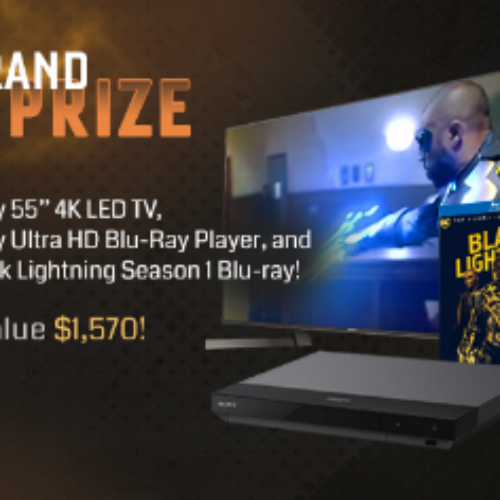 """Win a 55"""" Sony 4K LED TV"""
