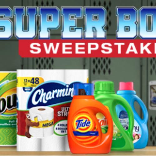 P&G: Win a Trip to Super Bowl LIII