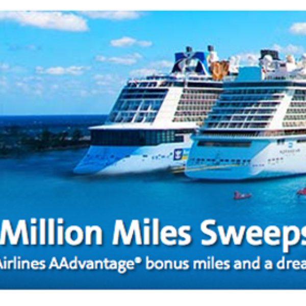 Win 500,000 AAdvantage Miles + Cruise