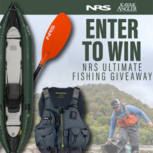 Win a Kayak Fishing Package