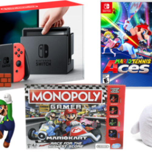 Win a Nintendo Switch Prize Pack
