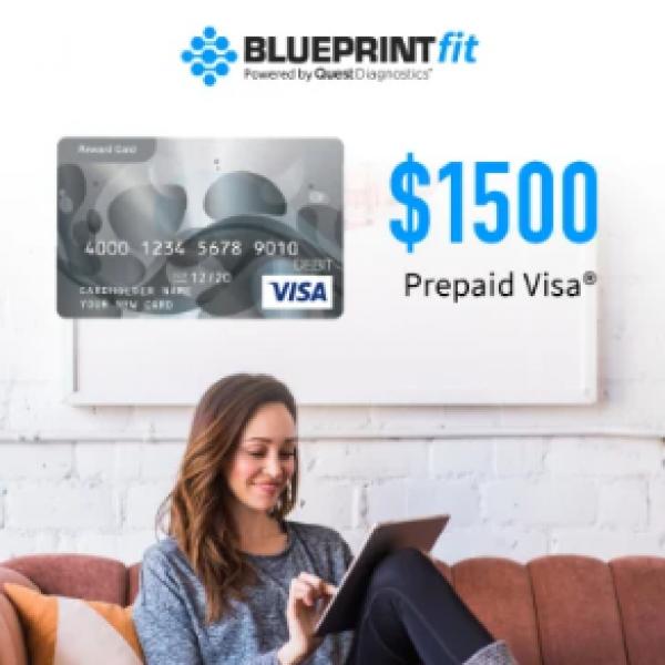 Win a $1,500 Prepaid Visa Gift Card
