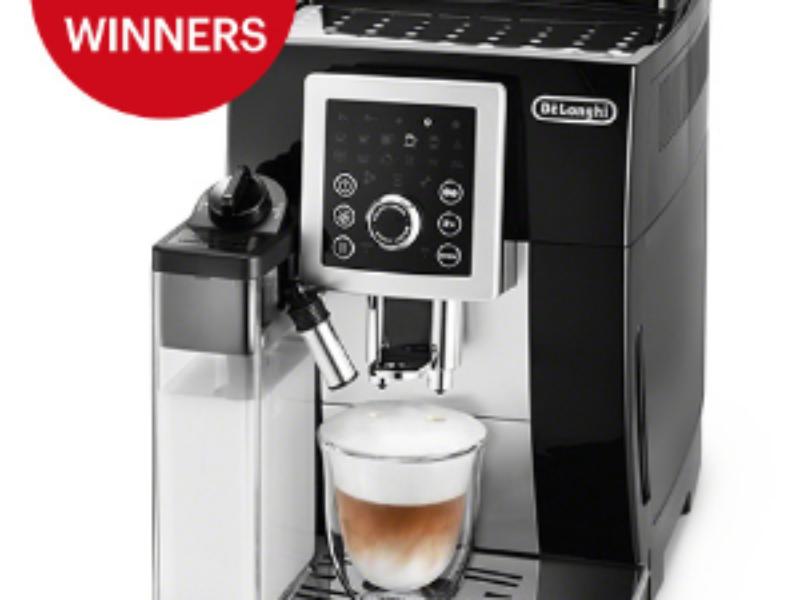Win 1 of 4 De'Longhi Cappuccino Machines