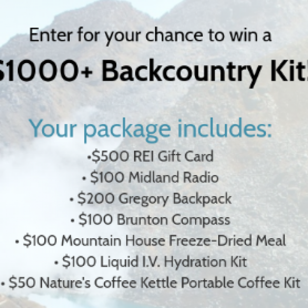 Win a $1K+ Backcountry Kit