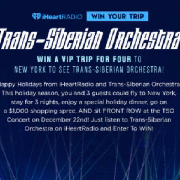 Win a VIP Trip to see Trans-Siberian Ochestra
