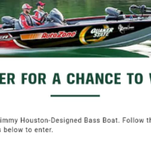 Win a Jimmy Houston Tracker Pro Team Bass Boat