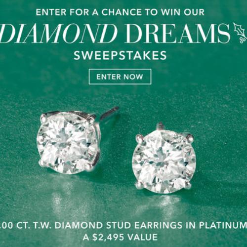 Win Diamond Stud Earrings from Ross Simmons