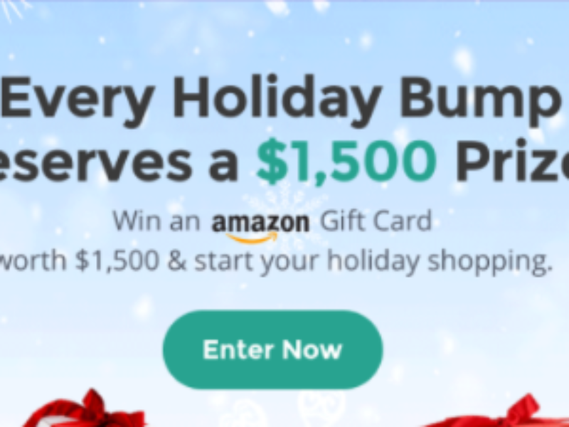 What To Expect: Win a $1,500 Amazon Gift Card
