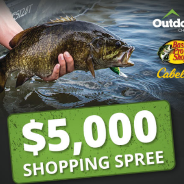 Win a $5K Bass Pro Shopping Spree