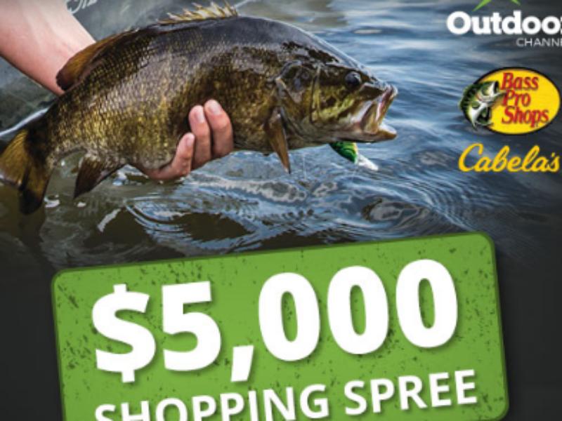 Win a $5K Bass Pro Shopping Spree