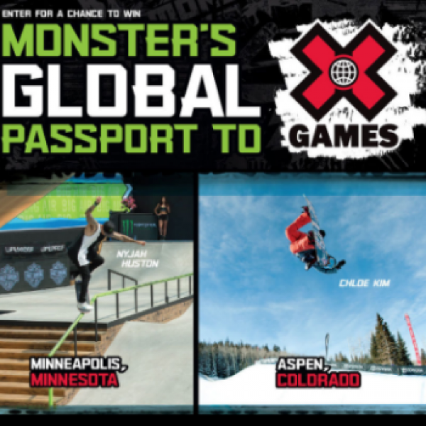 Win a Trip to X Games in Aspen, Minneapolis or Sydney